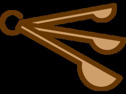 measurement spoons icon