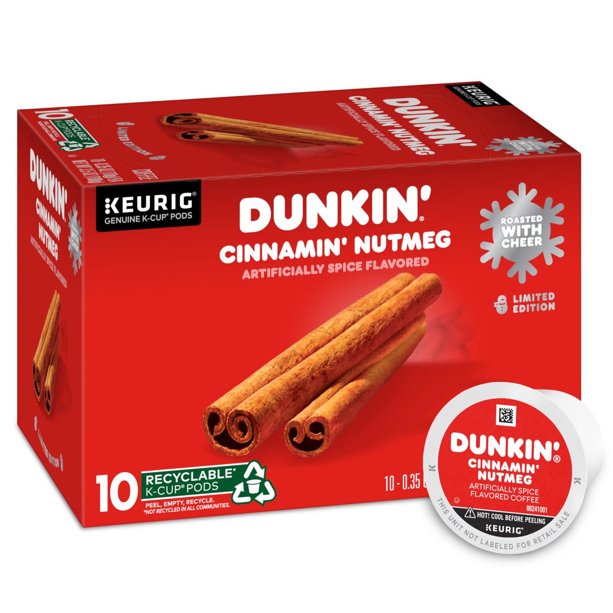 Cinnamin' Nutmeg Spice K-Cup® Pods