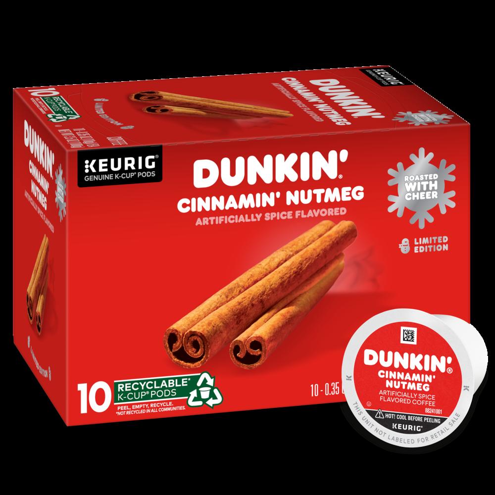 Cinnamin' Nutmeg Spice Flavored K-Cup® Pods