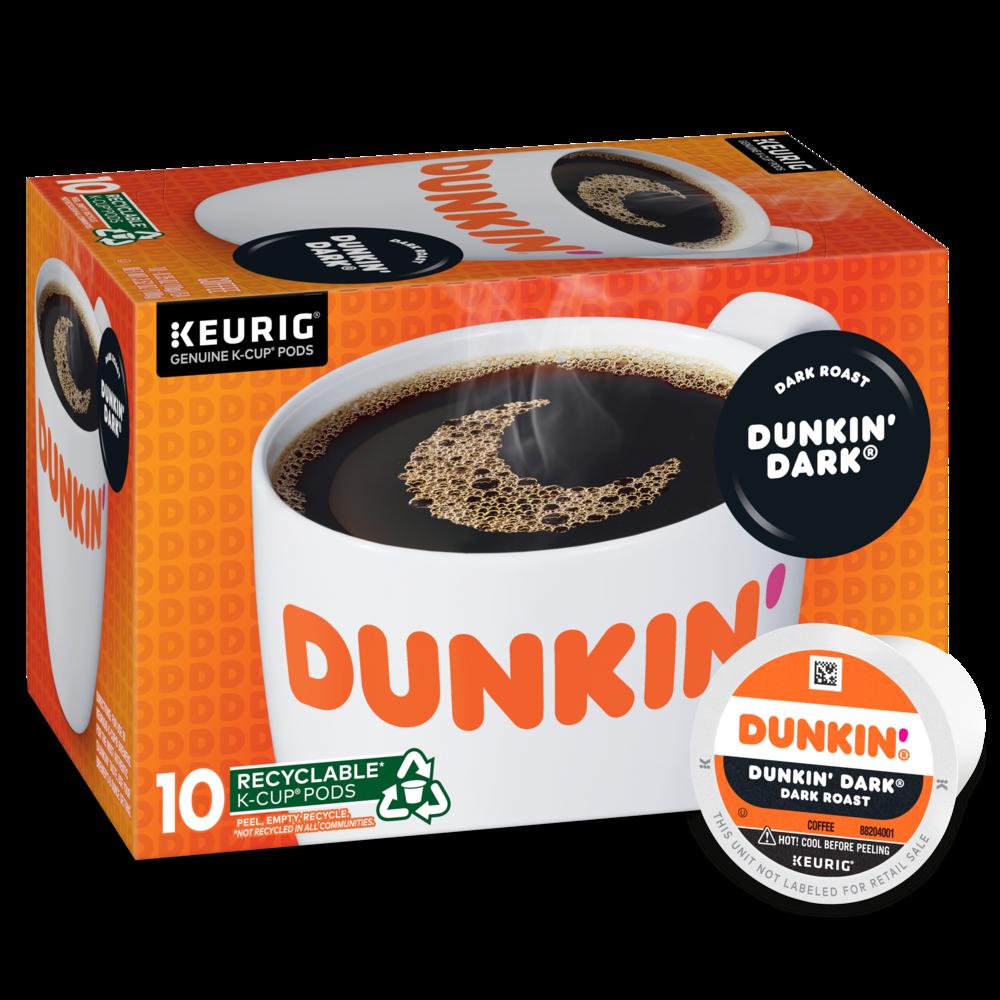 Dunkin' Dark® Roast Coffee K‑Cup® Pods