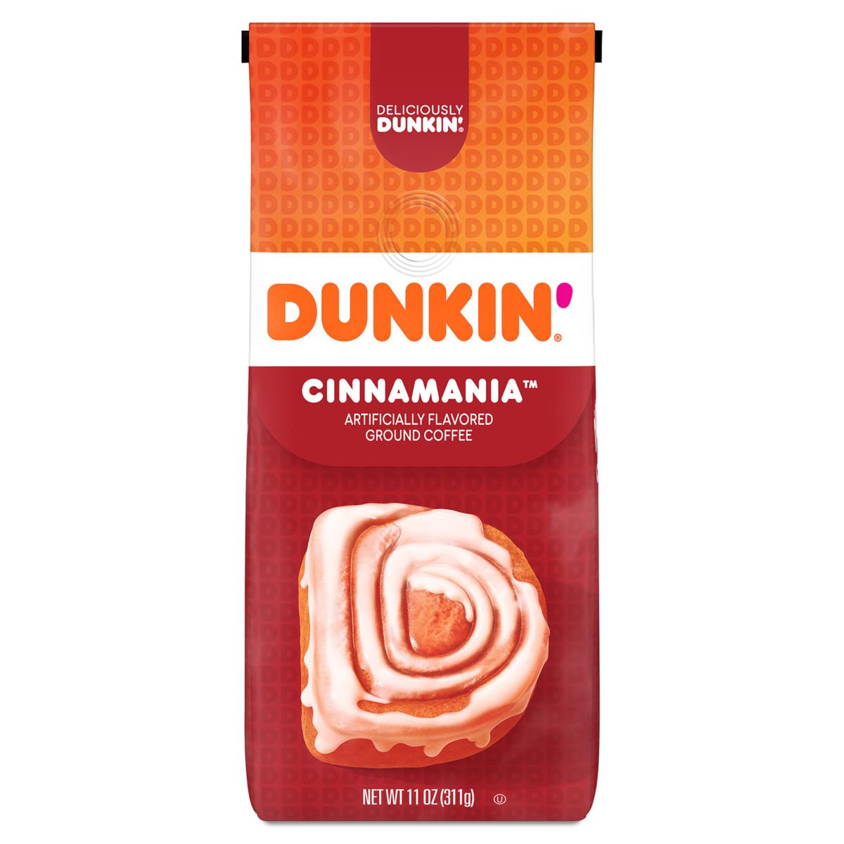 Dunkin'Cinnamania Ground Coffee