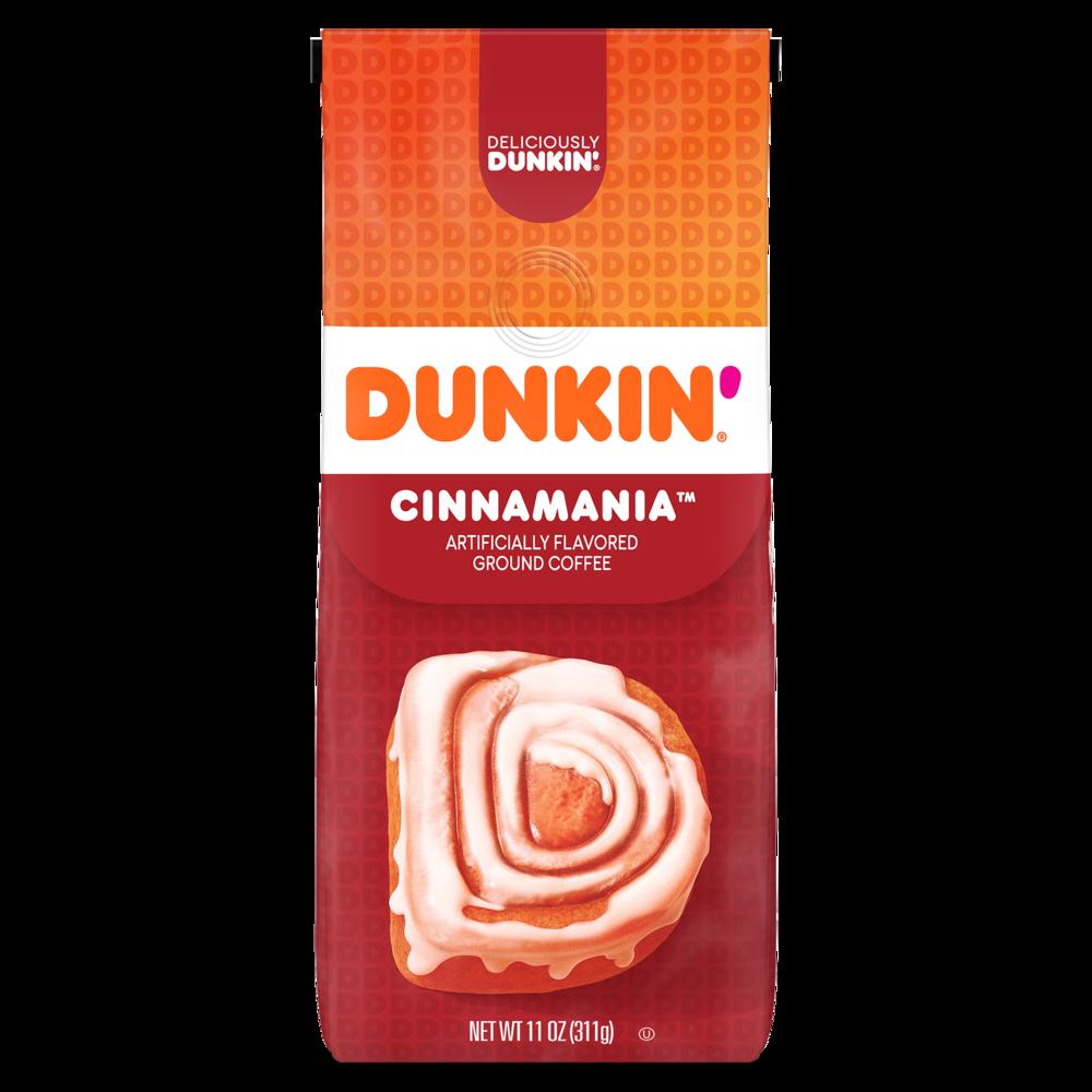 Dunkin'Cinnamania Artificially Flavored Ground Coffee
