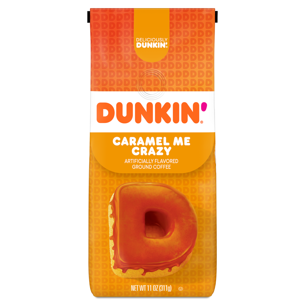 Caramel Me Crazy Artificially Flavored Ground Coffee