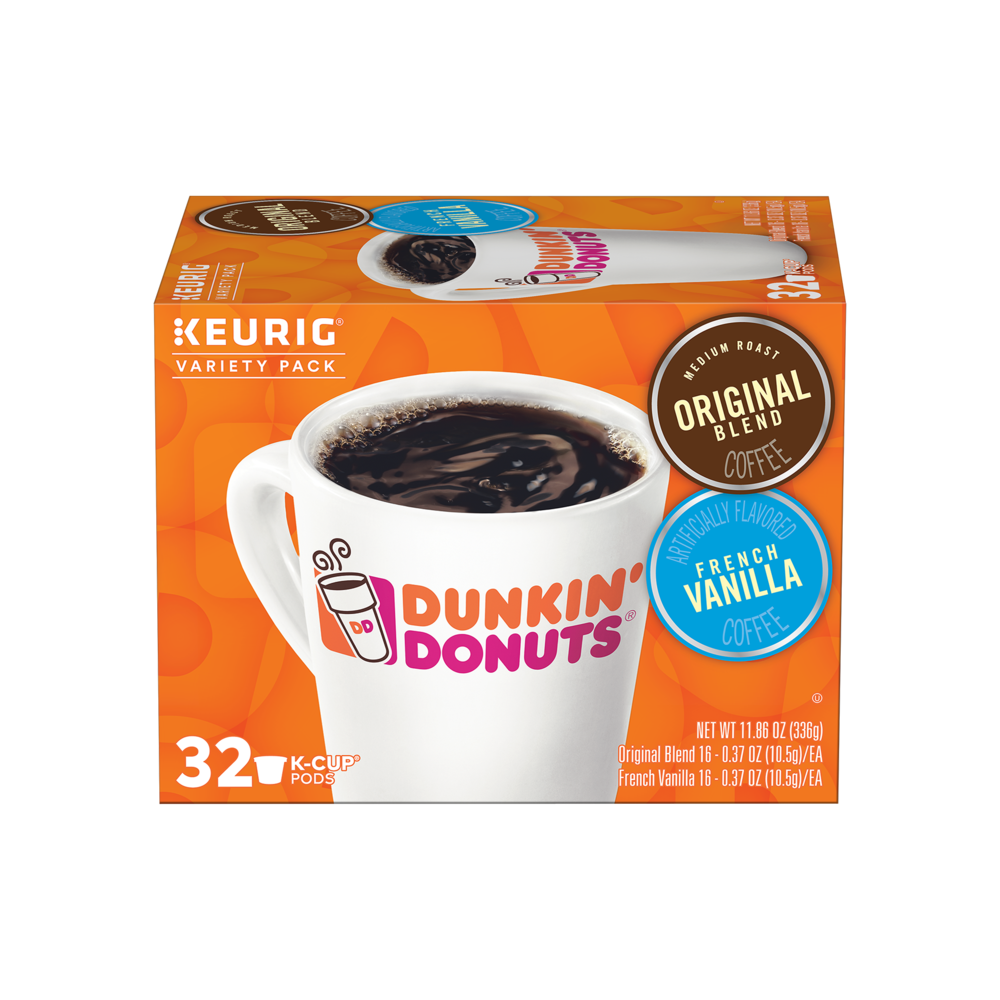 Original Blend & French Vanilla K‑Cup® Pods Variety Pack