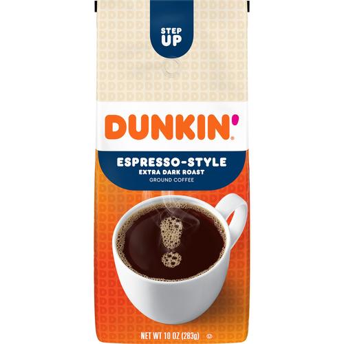 Dunkin' Espresso-Style Extra Dark Roast Coffee