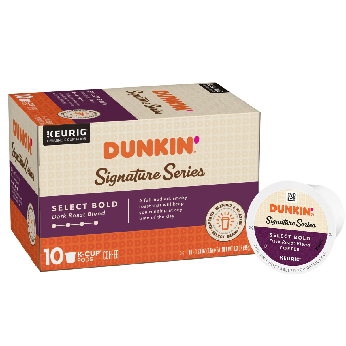 Dunkin'® Signature Series: Select Bold K‑Cup® Pods