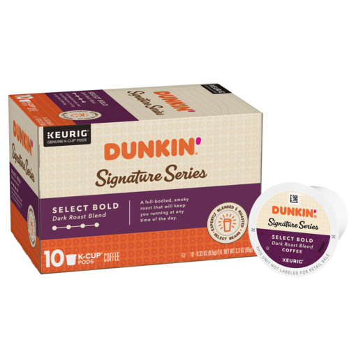 Dunkin'® Signature Series: Select Bold K-Cup® Pods