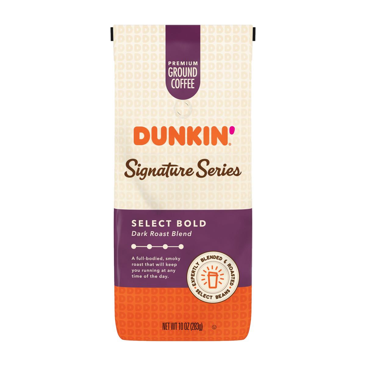 Dunkin'® Signature Series: Select Bold Dark Roast Ground Coffee