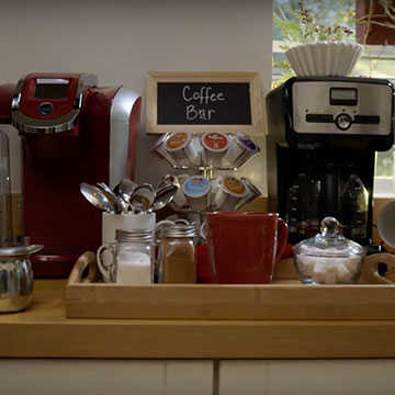 How To Create The Perfect Coffee Bar