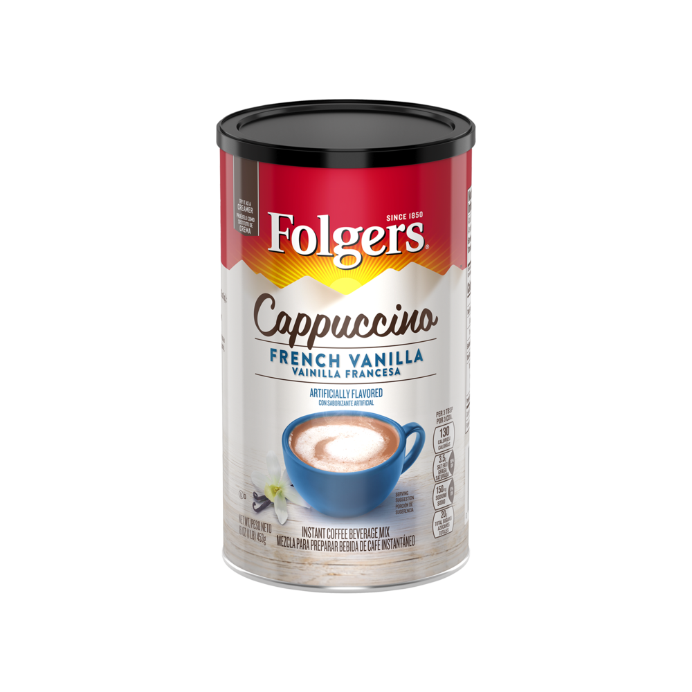 French Vanilla Flavored Cappuccino Mix