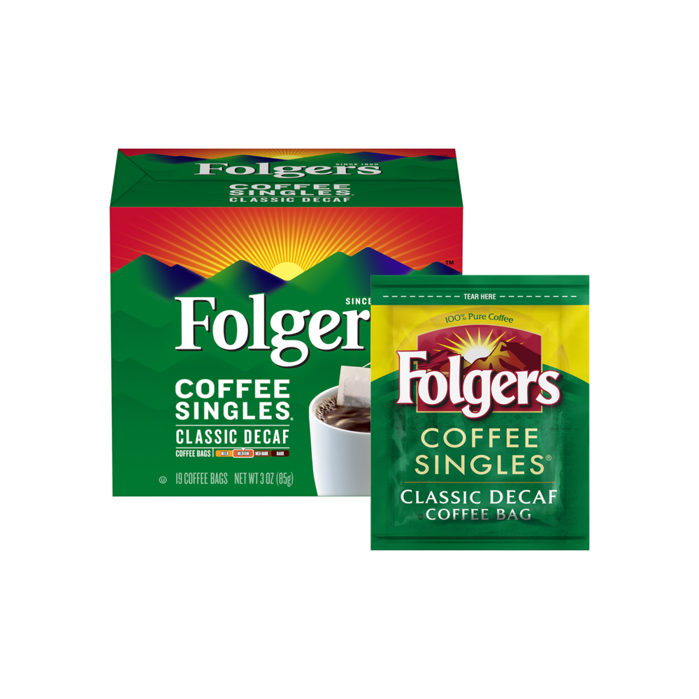 Classic Decaf Coffee Singles