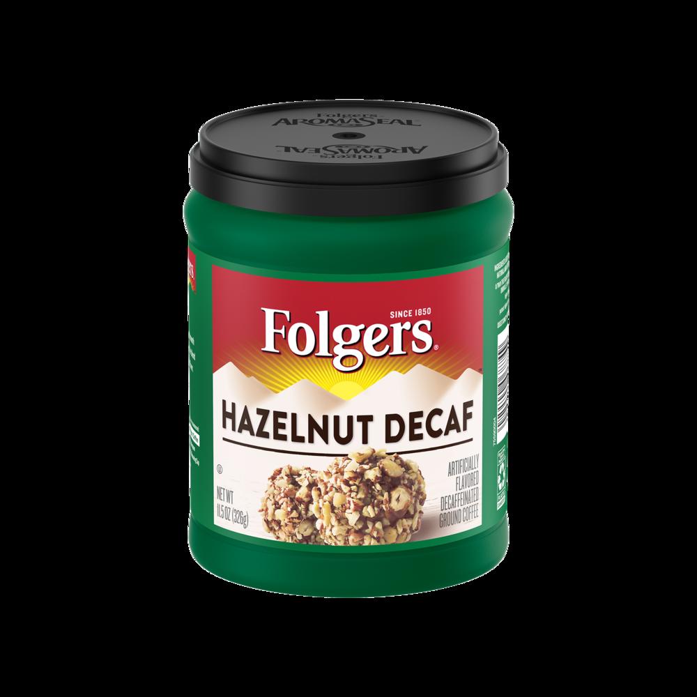 Hazelnut Flavored Decaf Coffee