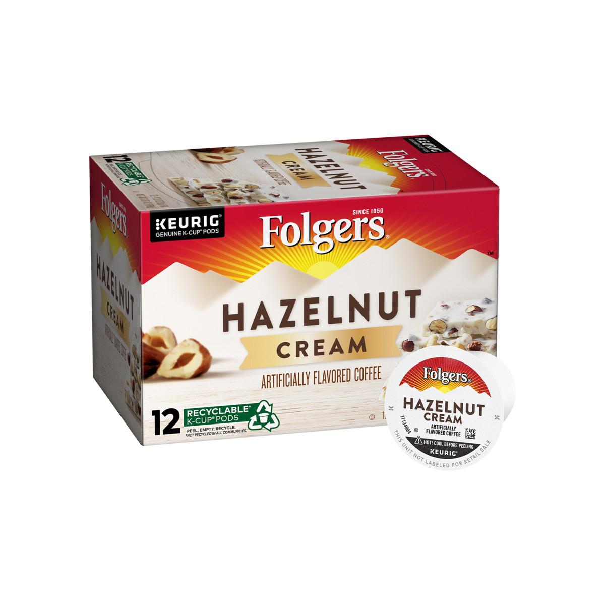 Hazelnut Cream Flavored Coffee K-Cup® Pods