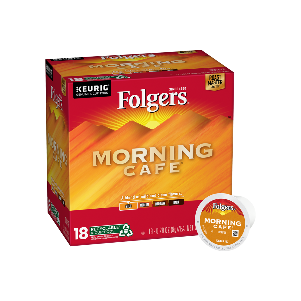 Morning Cafe® Coffee K-Cup® Pods