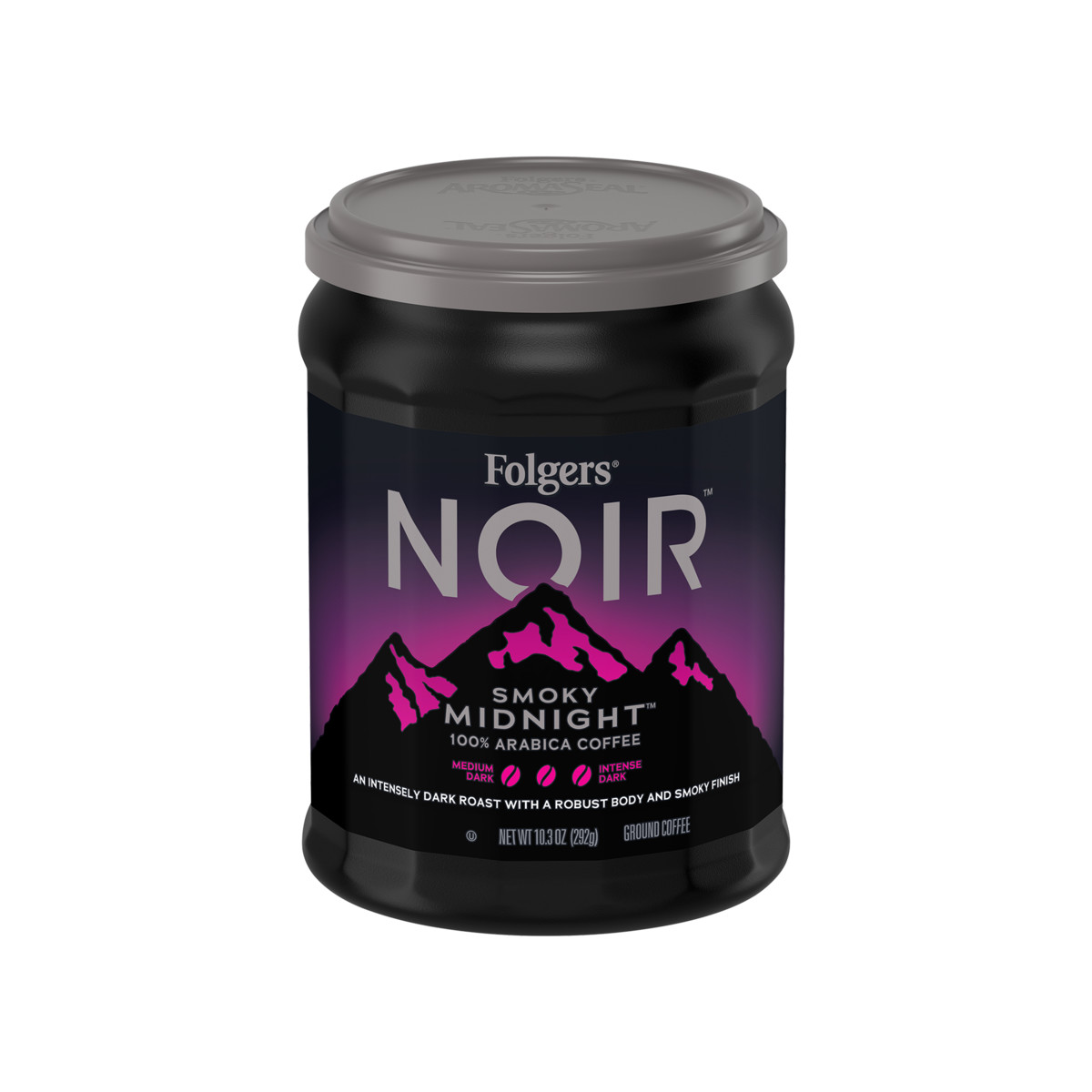 Folgers Noir® Smoky Midnight® Ground Coffee