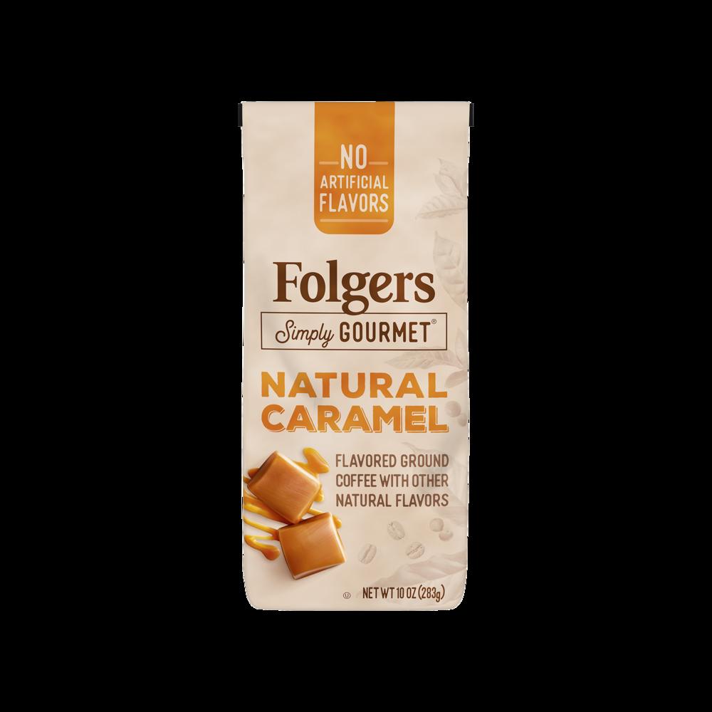 Natural Caramel Coffee