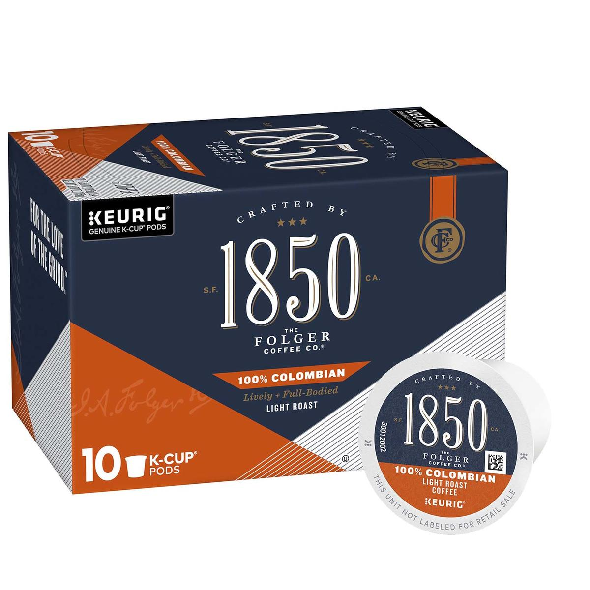 100% Colombian K‑Cup® Pods